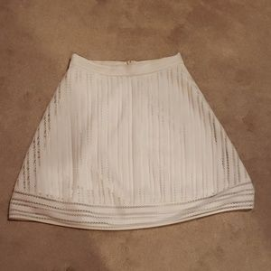 J.Crew Striped Eyelet Skirt